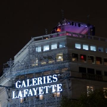 Concert Charlie Winston sur le toit des Galeries Lafayette