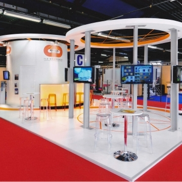 Agence Evanesence stand Bouygues