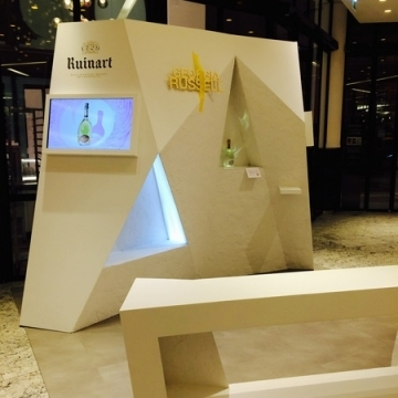 Agence Bulle d'Aire stand Ruinard